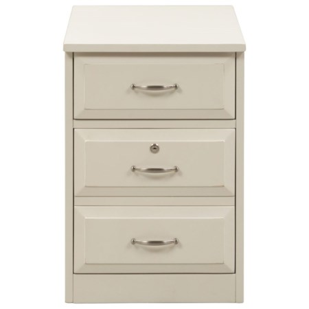 Mobile File Cabinet with File Drawer Locks