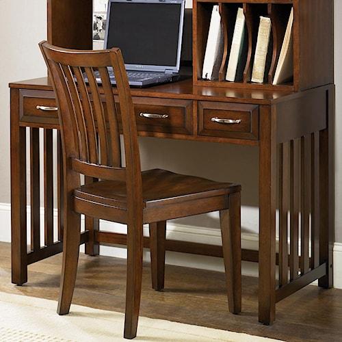 Liberty furniture hampton bay writing desk with drawers for L fish furniture