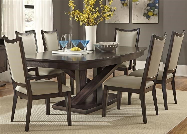 Liberty Furniture Southpark Contemporary 7 Piece Dining