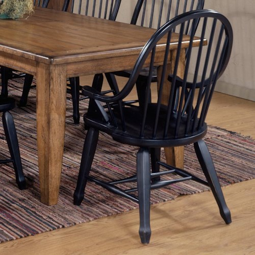 Liberty furniture treasures bow back arm chair standard for Affordable furniture and treasures