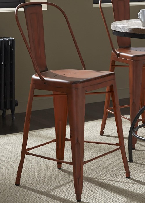 Vintage Dining Series Bow Back Counter Chair Rotmans Bar Stools Worcester Boston Ma