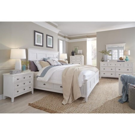California King Storage Bedroom Group