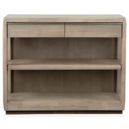 Contemporary Small Scale Two-Drawer Server