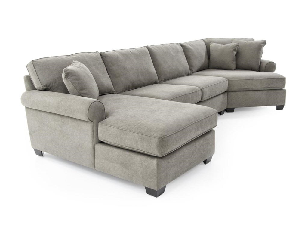 Sofa with cuddler and chaise wwwenergywardennet for Sectional sofa with chaise and cuddler