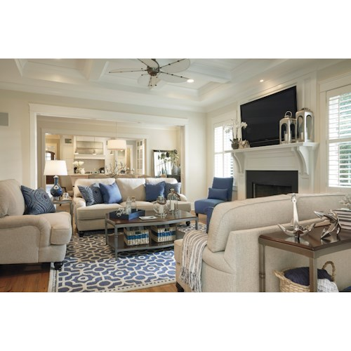 Millennium Harahan Stationary Living Room Group Godby Home Furnishings Upholstery Group