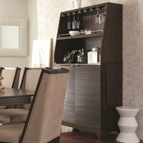 Najarian Cascade Bar Cabinet Stoney Creek Furniture Bar Cabinets Toronto Hamilton Vaughan