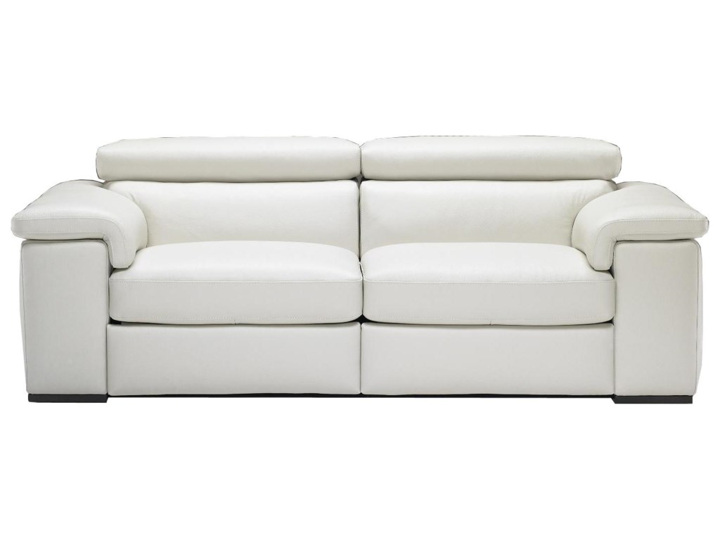 Natuzzi White Leather Sofa Thesofa