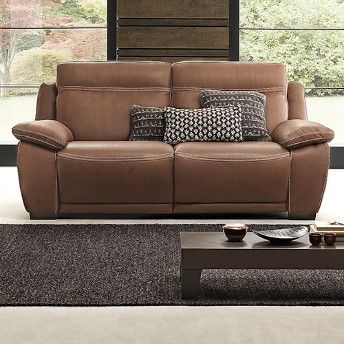natuzzi editions b875 casual reclining love seat wilson 39 s furniture reclining love seats. Black Bedroom Furniture Sets. Home Design Ideas