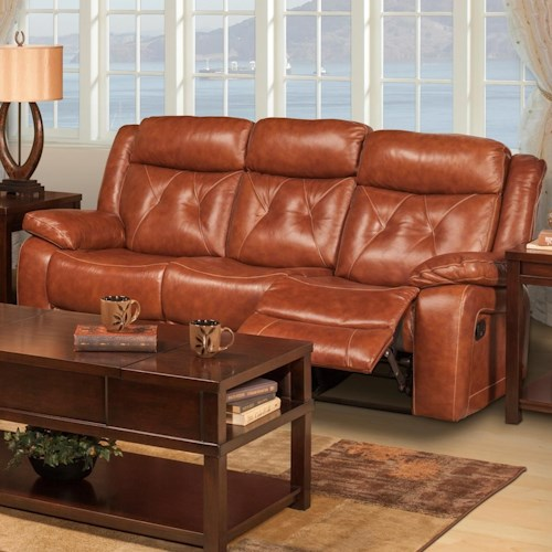 New Classic Benedict Casual Power Reclining Sofa With