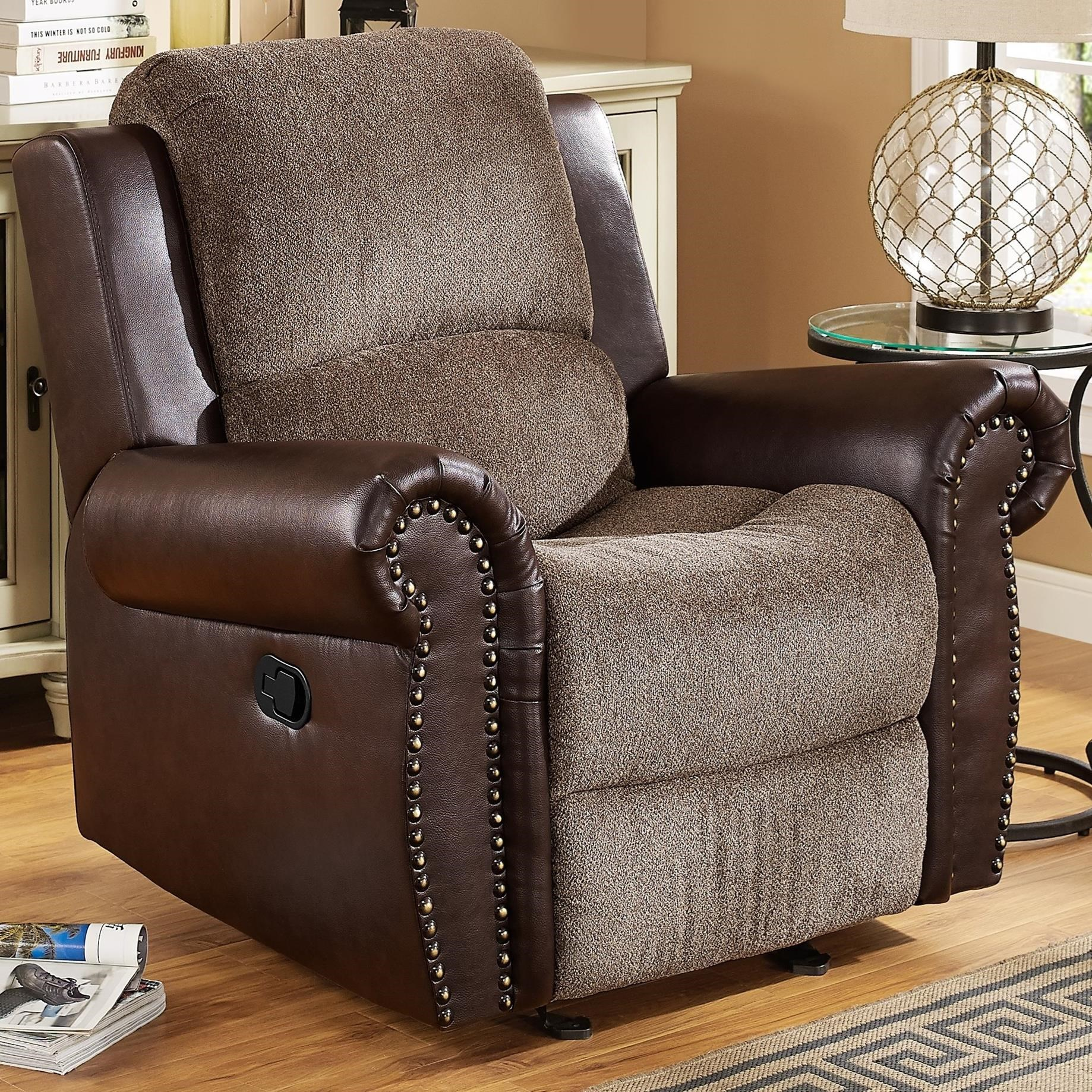 New Classic Callahan Traditional Power Glider Recliner