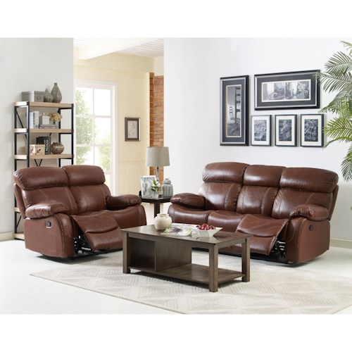 New classic dante reclining living room group wilson 39 s for Living room furniture groups