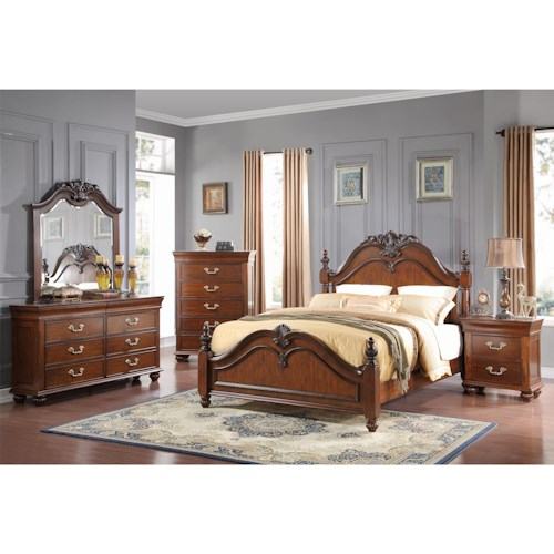 New Classic Jaquelyn Queen Bedroom Group Beck 39 S Furniture Bedroom Group Sacramento Rancho