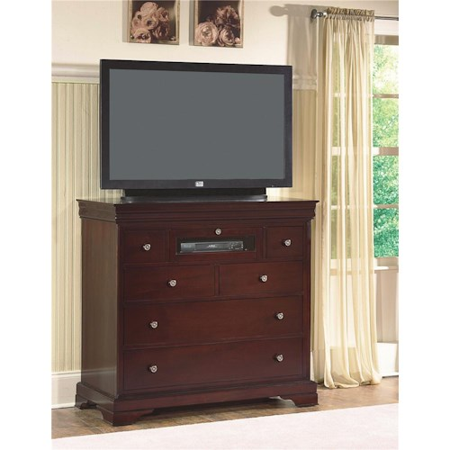 New Classic Versaille Media Chest Beck 39 S Furniture Media Chests Sacramento Rancho Cordova