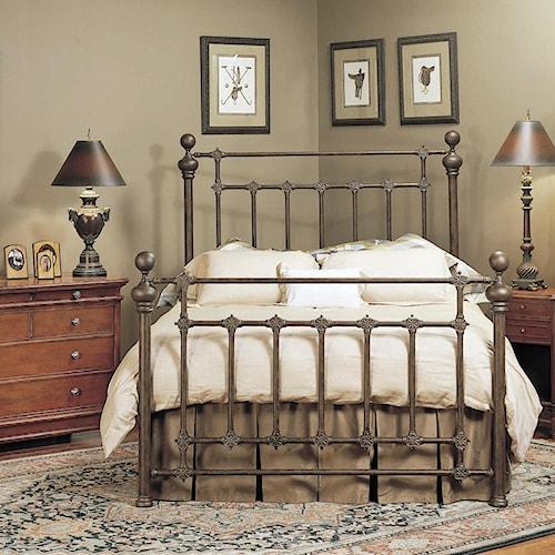 old biscayne designs custom design iron and metal beds rylander metal headboard and footboard. Black Bedroom Furniture Sets. Home Design Ideas