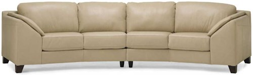 Palliser Cato Contemporary Upholstered Sectional Sofa Reid 39 S Furniture Sectional Sofas