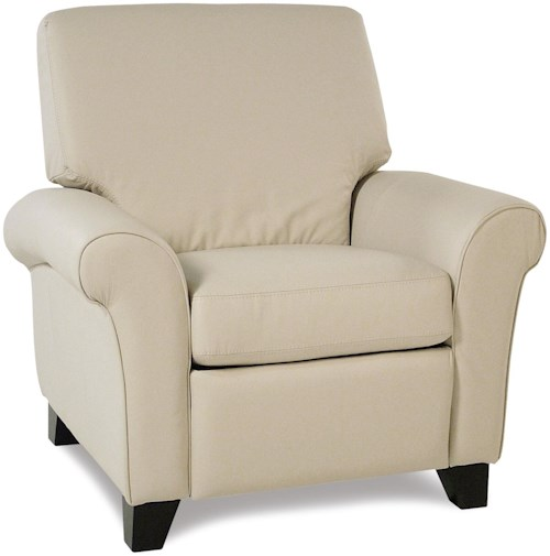 Katahdin transitional pushback reclining chair rotmans for Furniture 77429