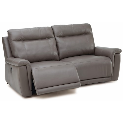 Palliser Westpoint Leather Power Sofa W Footrest