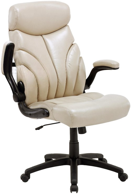 Desk chairs contemporary desk chair with lift arms for Furniture 0 percent financing