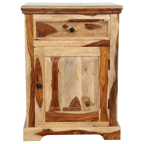 Porter International Designs Tahoe Night Stand W Drawer Rife 39 S Home Furniture Night Stands