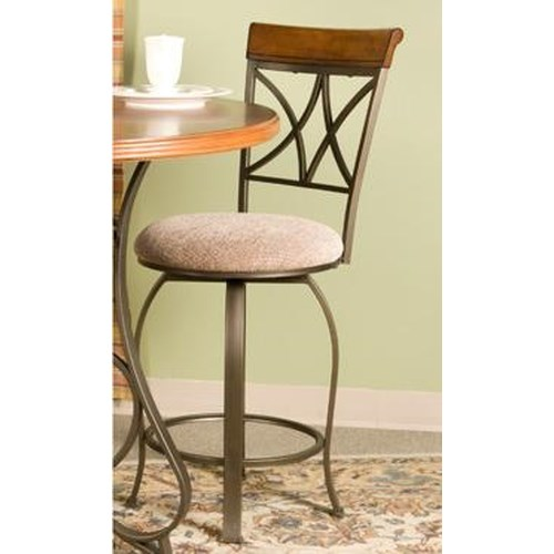Powell Hamilton Swivel Counter Stool Dream Home Furniture Bar Stool Roswell Kennesaw
