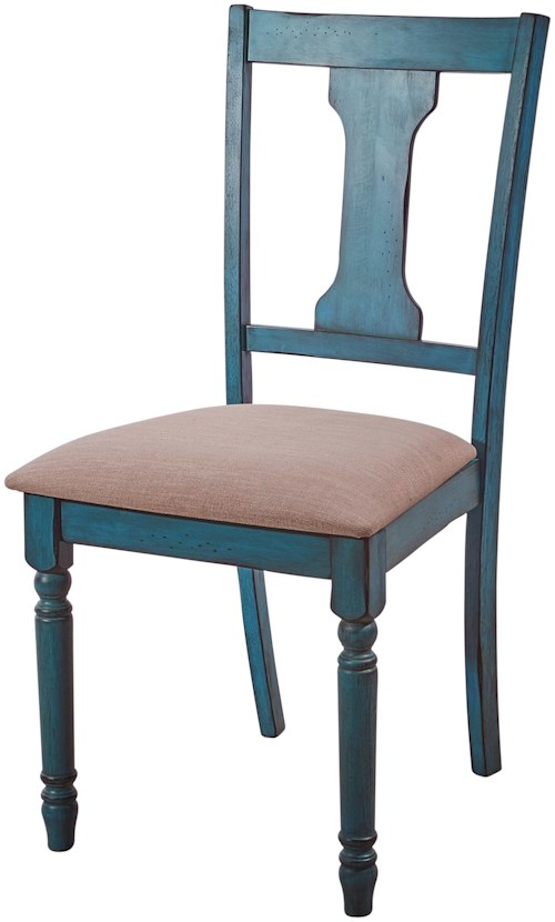Powell willow willow side chair furniture fair north for Dining room tables jacksonville nc