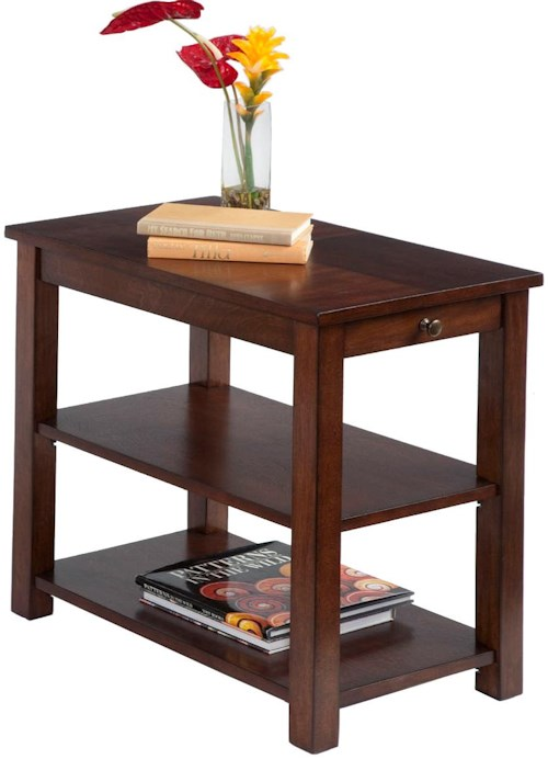 Progressive furniture chairsides p300 63 chairside table for Furniture 0 percent financing