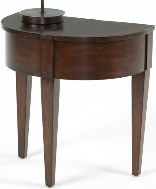 Progressive Furniture Chairsides Chairside Table With