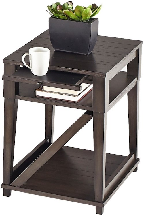 Progressive furniture consort t425 29 chairside table for Furniture 0 percent financing