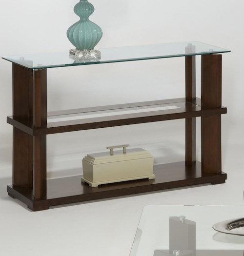 Progressive furniture delfino p404 05 sofa console table for Furniture 0 percent financing