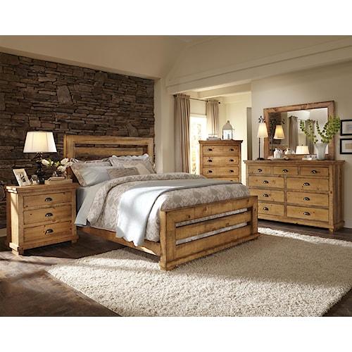 Progressive Furniture Willow King Bedroom Group Wayside Furniture Bedroom Groups