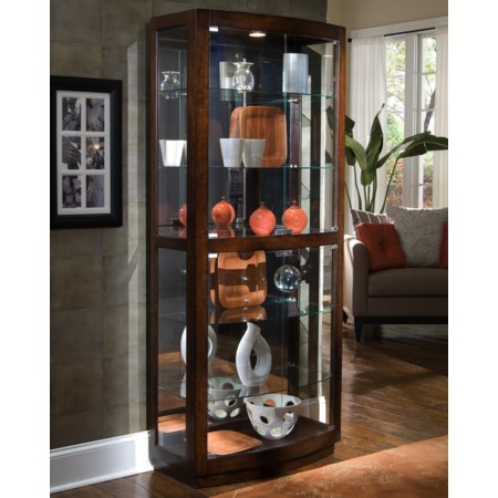 Pacific Heights Curio Cabinet