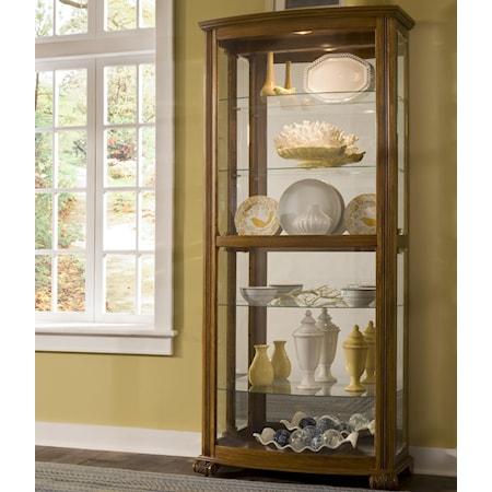 Rectangular Curio Cabinet