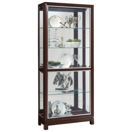 Side Entry Curio with Touch Lighting