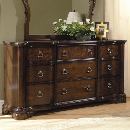 Hillsdale Dresser with 9 Drawers