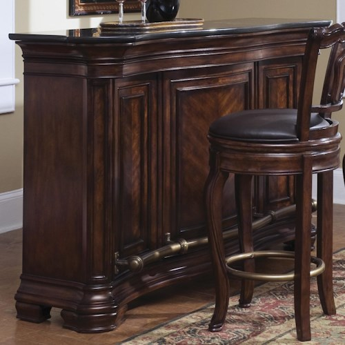 Pulaski Furniture Accents Toscano Vialetto Bar Dream Home Furniture Bars Roswell Kennesaw