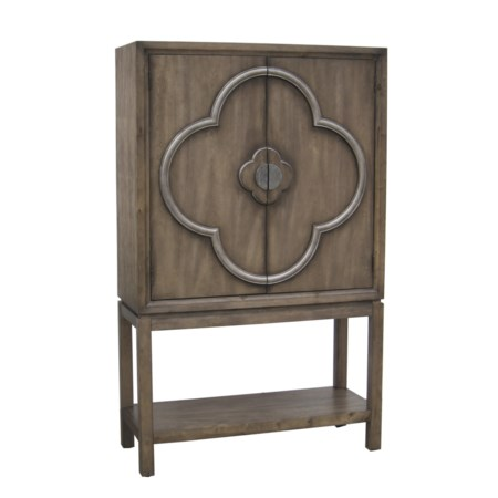 Tall Wine Cabinet w/ Doors
