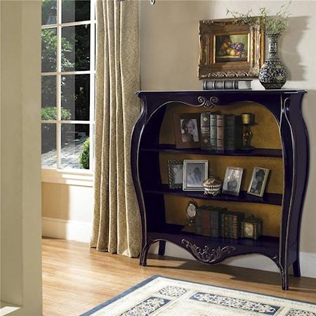 Amethyst Bookcase