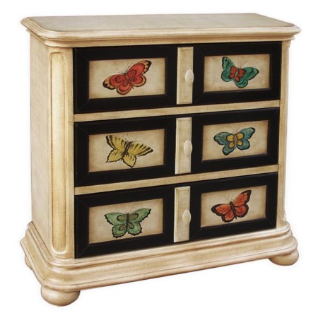 Butterfly Libby Hall Chest