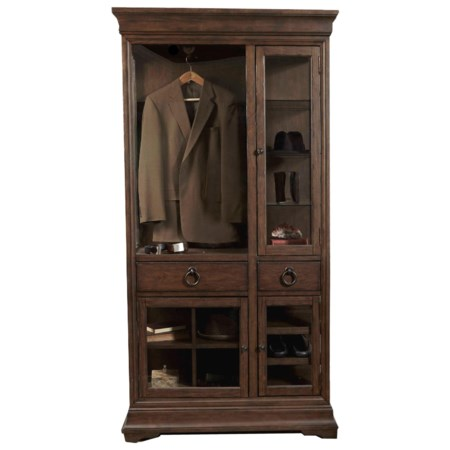 Curio Armoire with LED Lighting