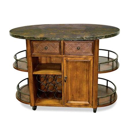 Kitchen Island Bar Cabinet