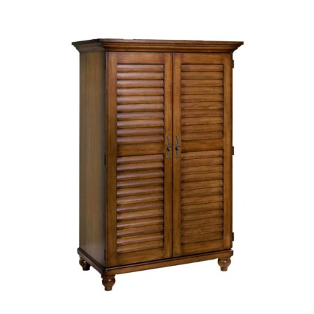 Entertainment Armoire with Two Doors