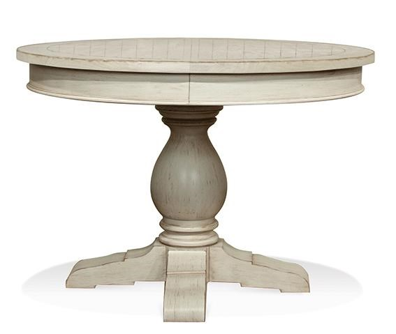 riverside furniture round pedestal dining table coventry counter height castlewood