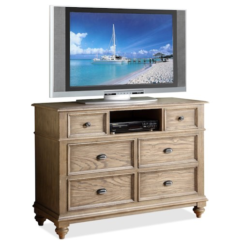 Riverside Furniture Coventry 6 Drawer Entertainment Chest Belfort Furniture Chest Media Chest