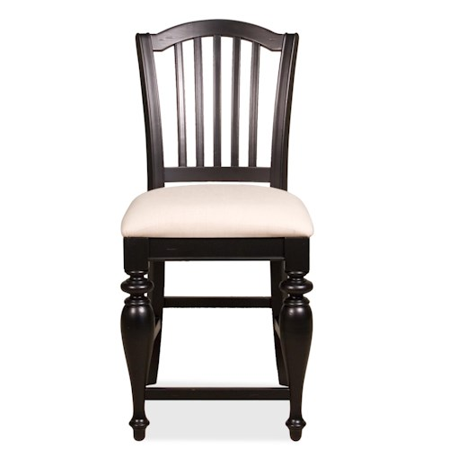 Riverside Furniture Mix N Match Chairs Counter Height Upholstered Stool Value City Furniture