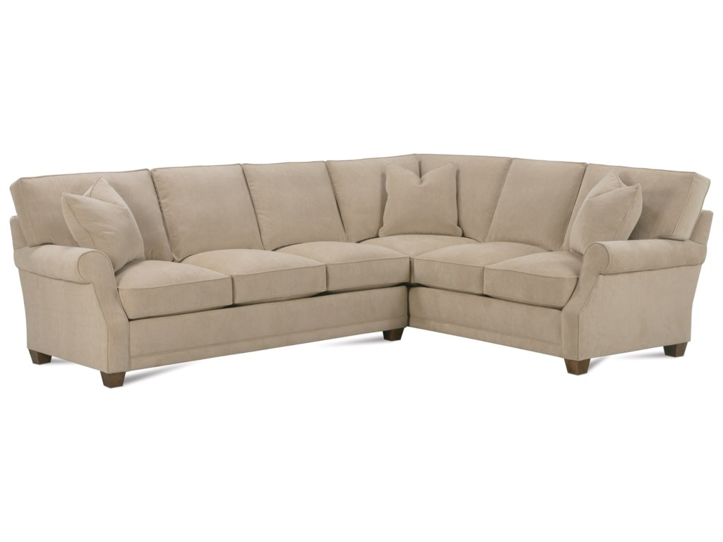 Furniture world sofas rowe claire contemporary bench for Raphael contemporary sectional sofa