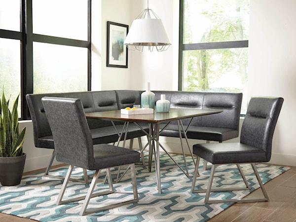 casual dining room group belfort furniture. Black Bedroom Furniture Sets. Home Design Ideas