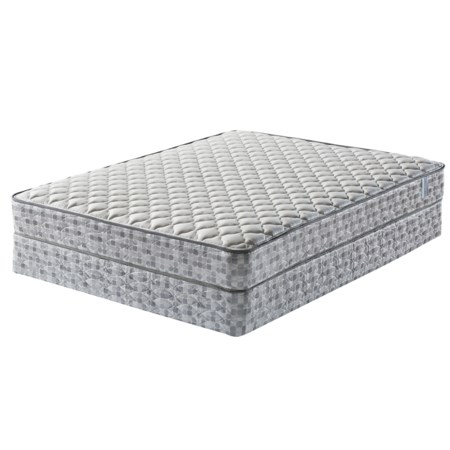 Twin Firm Mattress and Wood Foundation