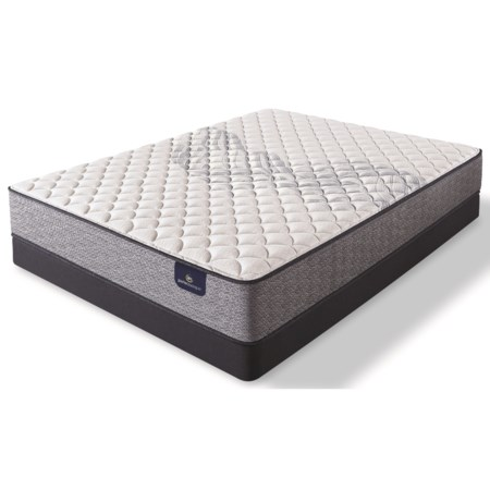 """Full Firm Pocketed Coil Mattress and 5"""" Low Profile Foundation"""