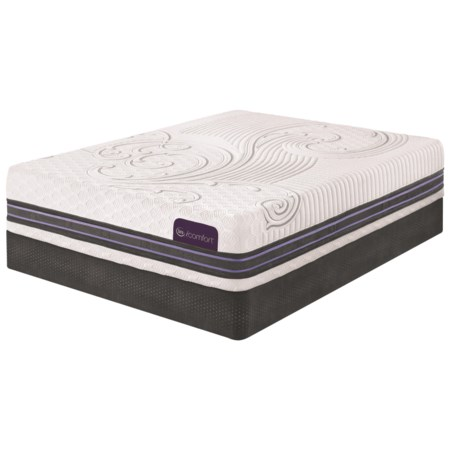 King SmartSupport™ Memory Foam Mattress and StabL-Base Foundation