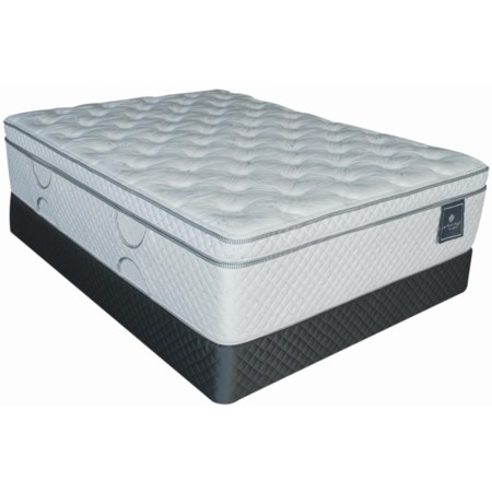 Twin Celestial Ultra Cushion Top Mattress and Box Spring